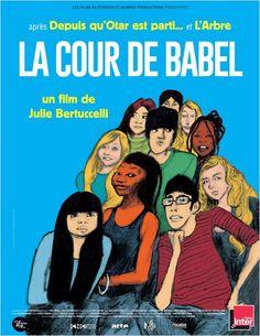 """""""La Cour de Babel"""", un documentaire de Julie Bertuccelli tourné dans la classe d'accueil du Collège de la Grange aux Belles à Paris (03/2014) <3<3<3<3"""