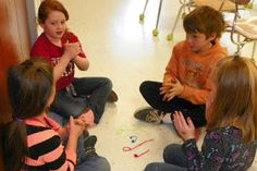 Mrs. King's Music Room: Pipe Cleaner Notation