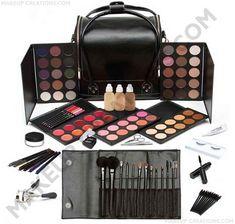 MakeupCreations - Complete Makeup Artists Starter Kit, $389.99 (http://www.makeupcreations.com/Professional_Makeup_Artists_Kit/)