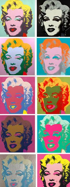 Andy Warhol Marilyn Monroe Portfolio Andy Warhol Marilyn Monroe Portfolio Pop icon and artist Andy Warhol was obsessed with celebrity. Read more to learn about the Marilyn Monroe series that Warhol created in Pop Art Marilyn, Andy Warhol Marilyn, Andy Warhol Pop Art, Andy Warhol Flowers, Andy Warhol Museum, Robert Rauschenberg, Robert Mapplethorpe, The Velvet Underground, Salvador Dali