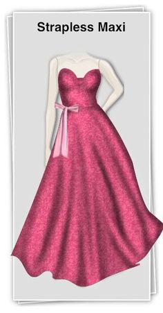 vestido simples e elegante para te sentires uma verdadeira princesa