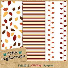 Scrapbooking TammyTags -- TT - Designer - DBS DigiScraps,  TT - Item - Paper, TT - Theme - Autumn or Thanksgiving