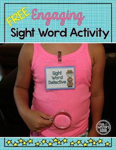 FREE My students are so engaged while learning sight words.