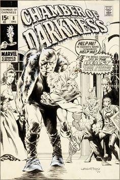 Original Comic Art:Covers, Bernie Wrightson Chamber of Darkness #8 Cover Original Art(Marvel, 1970)....