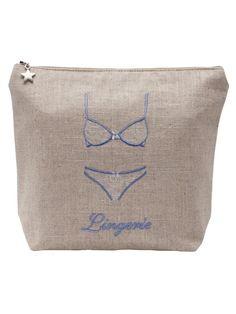 d4e8a8848bda30 DG12 Lingerie Bag - Natural Linen Guest Towels, Natural Linen, Bedding  Sets, Reusable