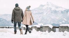 Foto: Oberösterreich Tourismus GmbH/Robert Maybach: Winterspaziergang an der Uferpromenade in Mondsee Maybach, Snow, Illustration, Outdoor, Photos, Tourism, Hiking, Traveling, Outdoors