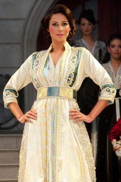 Typical Moroccan Caftan. Pretty.