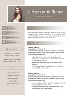 #resume #template | #cv Template #wordpress #creative #word #resumetemplate #design #service #professional #download #cvtemplate #professionalimage