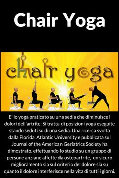 Liberati dalle emozioni: Chair Yoga
