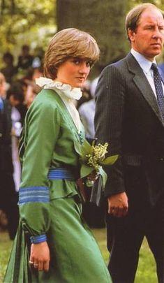 Prince Charles et Lady Diana Spencer visitent Broadlands, Romsey, Hampshire- Mai 1981