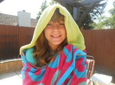 Beach Towels with Hood by clriegs on Etsy, $45.00