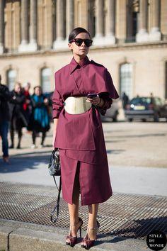 New post on http://www.styledumonde.com/ with #Buro247 #founder #MiraDuma #MiroslavaDuma @miraduma wearing @awake_uk #AwakeUK @nataliaalaverdian #Vionnet @vionnet_paris at #parisfashionweek #pfw #fw14... #outfit #ootd #streetstyle #streetfashion #streetchic #streetlook #instafashion #instastyle #fashion #mode #style #Paris #weloveit #instastreetstyle. Photo by #styledumonde