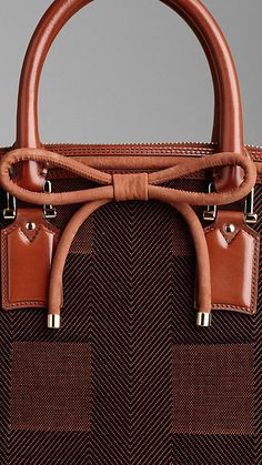 Burberry Orchard bag in Check Jacquard