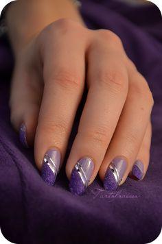 Nail art – Manucure «Velvet» (velours)