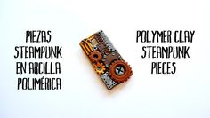 Cómo hacer piezas steampunk en arcilla polimérica   El Rincon de Fri-Fri