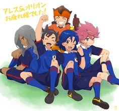 Inazuma Eleven Go Inazuma Eleven Strikers, Inazuma Eleven Go, Another Anime, Boy Art, Peace And Love, Twitter, Family Guy, Animation, Manga