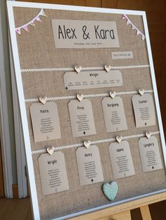 #Rustic #countryside #wedding table plans ideas at Wasing Park Aldermaston