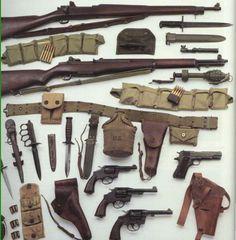 US ww2 weapons