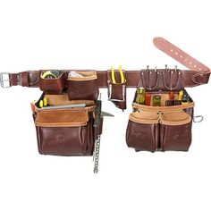 Occidental Leather 5530 Stronghold Big Oxy Tool Belt Set.