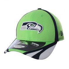 Apoya a tu equipo con la ligera gorra #NewEra 39Thirty Seattle #Seahawks. New Era Cap, Seattle Seahawks, Hats, Hat, New Era Hats, Hipster Hat, Caps Hats