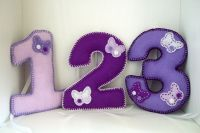 Lilac Butterfly Number Decorations - £14.70  Each number measures approximately 13cm high and 10cm wide. Please note these items are for decoration only and are not suitable to be used as a children's toy.     FREE DELIVERY, UK HANDMADE - ALLOW UP TO 2 WEEKS FOR DELIVERY