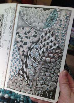 Zentangle Inspired Art 1 - Gwen Lafleur