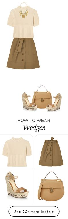 """."" by fashionmonkey1 on Polyvore featuring TIBI, Totême, Alexis Bittar, Chloé and Schutz"