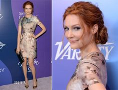 Darby Stanchfield In Valentino - Variety's Annual Power of Women Event - Red Carpet Fashion Awards Celebrity Red Carpet, Celebrity Style, Valentino The Last Emperor, Darby Stanchfield, Special Occasion Outfits, Celebs, Celebrities, Red Carpet Fashion, Powerful Women