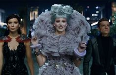 New Fashion Reveals from the emHunger Games: Catching Fire/em Trailer: The Capitol is not subtle.