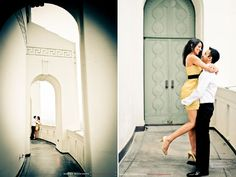 griffith park observatory engagement photos - Google Search