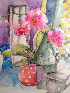 Shirley Trevena Wannabe | Exploring Watercolor