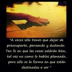 A veces.....