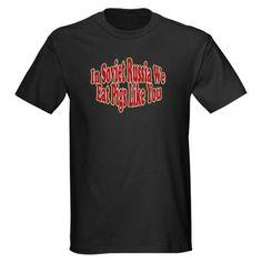 Russian Pigs Black T-Shirt