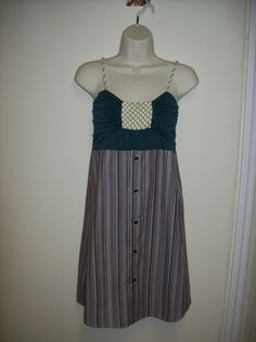 Refashioned Womens Top and Mens Shirt Ladies Summer by MoxieWay, $30.00