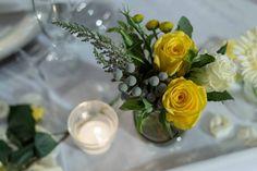 Mandisa's wedding - Yellow is the new white!
