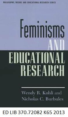 The imagined globalization by nstor grcia canclini translated feminisms and educational research by wendy kohli and nicholas c burbules fandeluxe Image collections