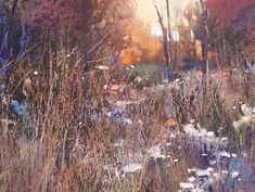 Detail - 'Beneath the Setting Sun'          18x24  pastel        ©Karen Margulis - Painting My World: Why You Need Colorful Darks