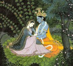 krishna+and+radha | Krishna and Radha