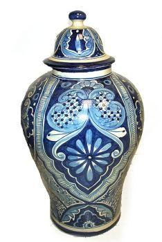 Typical Mexican Talavera Vase