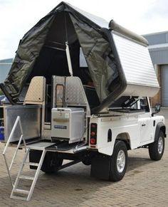 campersouthafrica - Landrover Defender 110 Camper 2 berth