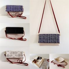 Made on Main VT: Sneak Peak: Fold over Clutch / Crossbody