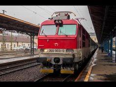 "ZSSK 350 003 ""gorilla"" indul Budapest-Keleti pályaudvarról - YouTube Budapest, Train, Youtube, Strollers, Trains, Youtube Movies"