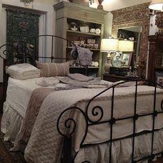 New bedding at Capitol Park Antiques, Interiors & Gardens.