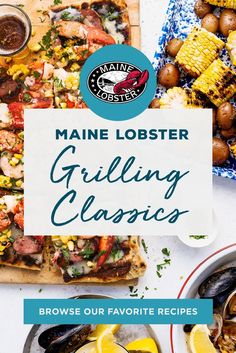 Fire up the grill and celebrate summer with our favorite grilled Maine Lobster recipes. These quick and easy dishes are the PERFECT addition to an afternoon of sitting outside and soaking up the sun. Fish Dishes, Seafood Dishes, Fish And Seafood, Shellfish Recipes, Seafood Recipes, Chicken Recipes, Grilling Recipes, Cooking Recipes, Healthy Recipes