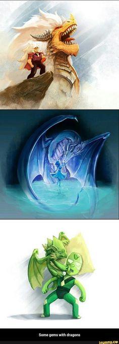 RPG, manga , quadrinhos , cultura em geral: Crystal Gems Dragons
