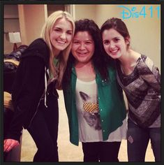 Rydel Lynch with Raini Rodriguez and Laura Marano (Ross' Austin and Ally co-stars) Ross Lynch, Austin E Ally, Raini Rodriguez, Disney Channel Stars, Laura Marano, Disney Shows, Celebrity Dads, Role Models, Actors & Actresses