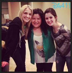 Rydel Lynch with Raini Rodriguez and Laura Marano