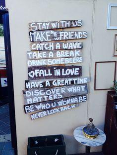 Shaana café, Yallingup, Western Australia