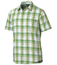 Marmot Men's Drake Plaid Short Sleeve Shirt available at Dick's Sporting Goods