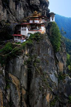 Bhutan - high on the ol' travel list.